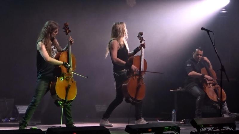 Apocalyptica Plays Metallica - Live @ Crocus City Hall, Moscow 23.04.2017 (Full Show)