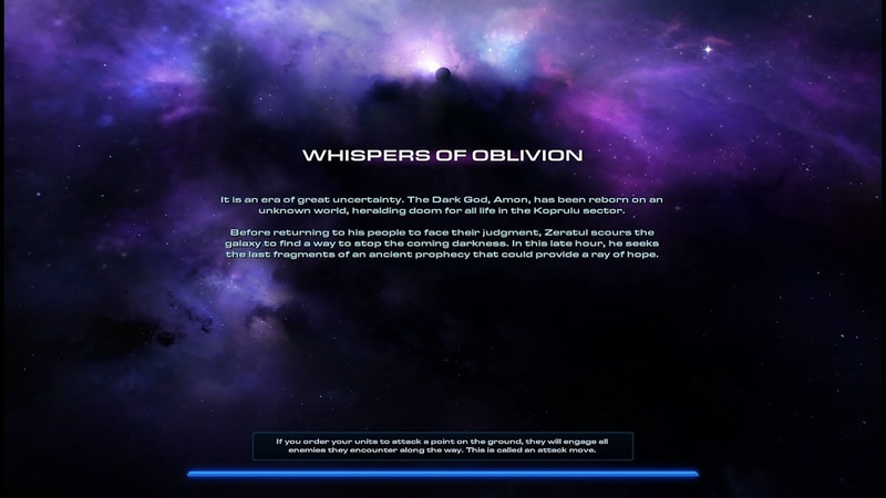 StarCraft 2: Legacy of The Void - Dark Whispers (Level 1)