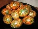 Красим яйца к пасхе оригинальным способом