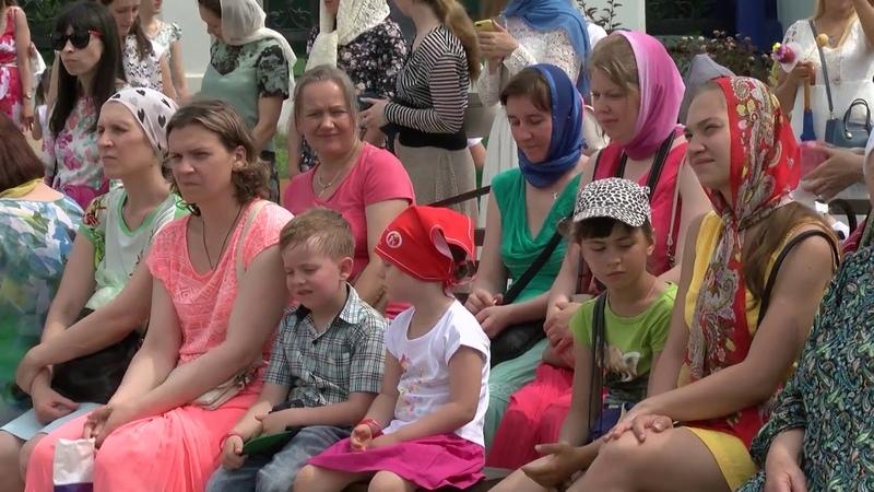 Тюменцы отметили День Петра и Февроньи в Вознесенско-Георгиевском храме