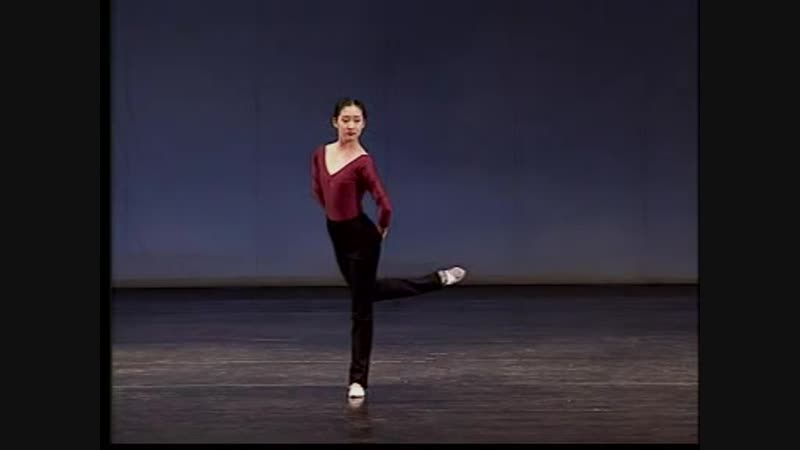 кит. 9-中国古典舞女班教材9基本脚位