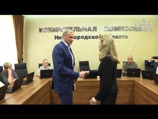 Дмитрий Сватковский и Артем Баранов получили удостоверения кандидатов в депутаты