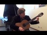 Исп. и аранж. Михаил Гольдорт. Tango Espuma de Champagne (Брызги шампанского) for guitar, Arr. by Michael Goldort