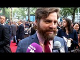 Zach Galifianakis Interview - The Hangover 3 Premiere