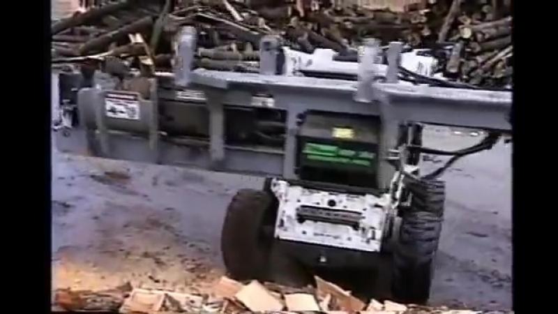 Дровокольная навеска на минипогрузчик bobcat.mp4