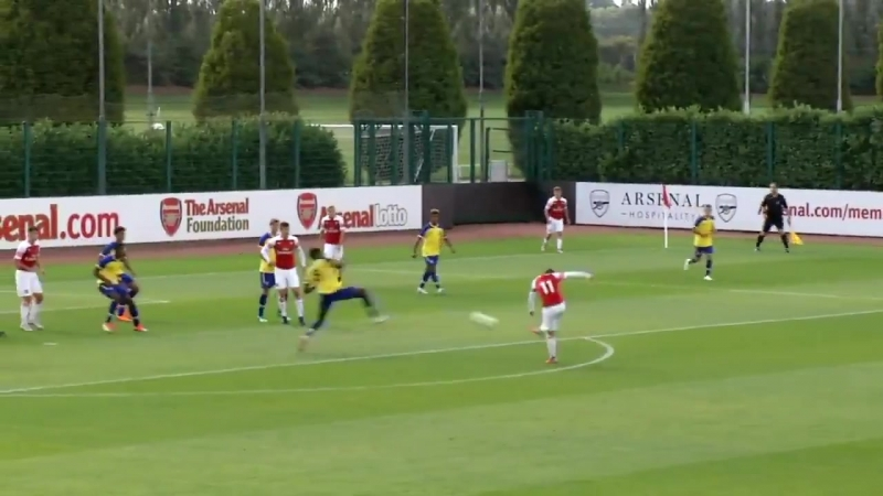 The corner - The touch - The finish - - Sam Greenwood scored the winner as AFCU18 beat Southampton 1-0 on Saturday