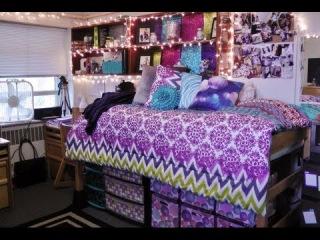 Dorm Room Tour