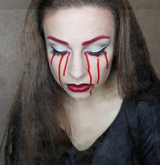 """На нашем женском портале  """"Дамочка """" Вы в любой момент можете отыскать публикацию - макияж на хэллоуин для девушек фото..."""