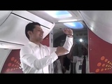 midair Holi dance by SpiceJet cabin crew