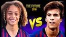 Riqui Puig VS Xavi Simons 2018● Future of Barcelona ● HD