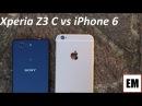 Sony Xperia Z3 Compact vs Apple iPhone 6 ita da EsperienzaMobile (4K)