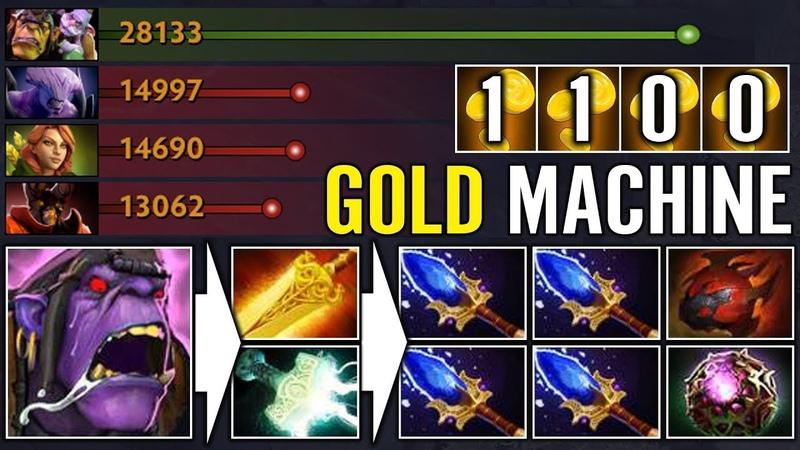 Alchemist GOLD keeper Dota 2 - Nice! Aghanim's Scepter Buff From Ace