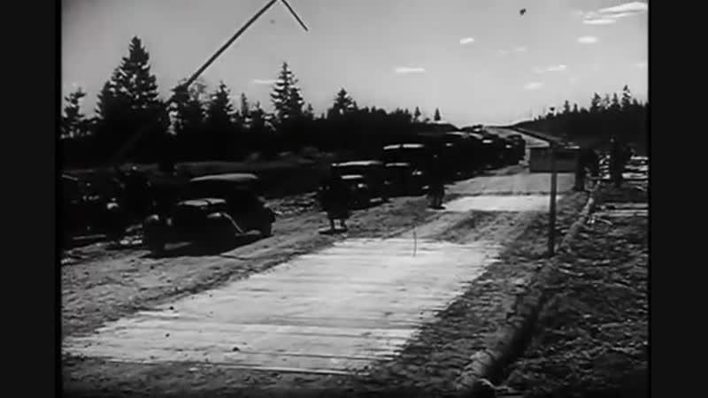 Весна 1942 под Ленинградом. Как немцы мостили дороги