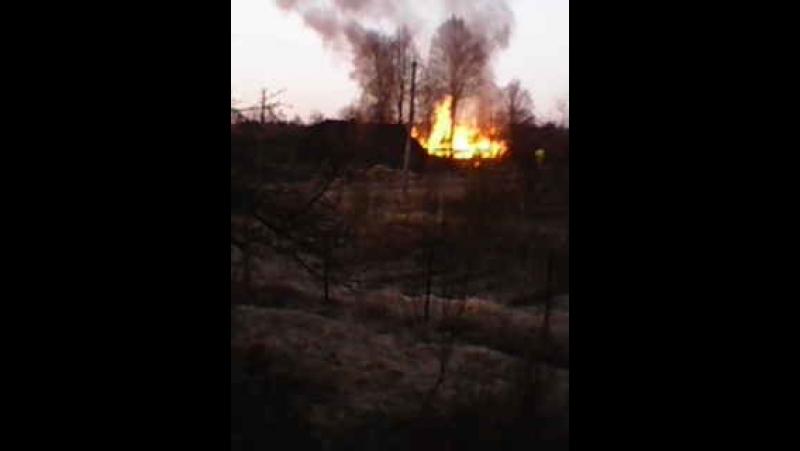 Пожар 15.04.18 ул.Синчука п.Уторгош