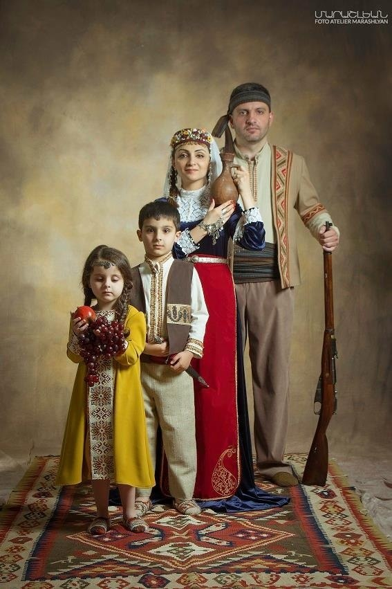 Post tradional attire of your ethnicity.