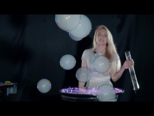 Реклама видеоурока Работа с парогенератором на светящемся столе