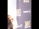 Дженет и Дэдди Янки на красной дорожке вечеринки по случаю выхода совместного сингла