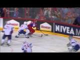 RUSSIA - FRANCE 1:0 GOAL PEREZHOGIN (POPOV, BELOV) IIHF WORLD CHAMPIONSHIP 2013