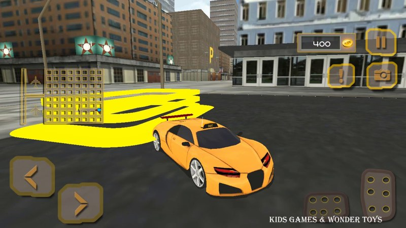 Pro TAXI Driver Crazy Car Rush|city taxi racer|driving simulator game|extreme taxi cab HD 4