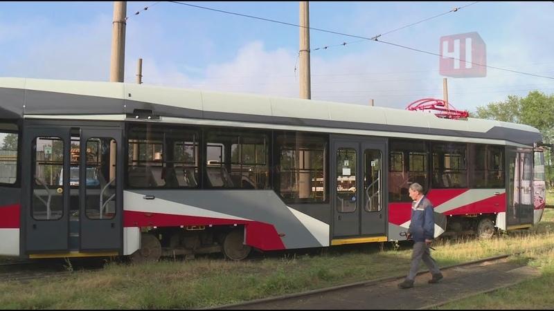 Презентация нового комфортного трамвая