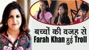 Farah Khan Apne Dhram Ki Wajah Se Hui Troll Shirish Kunder