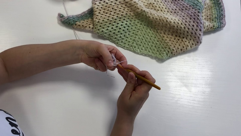 Обзор Nako Peru Color вяжем бактус крючком