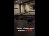 Отработка ударных перед концертом. Геленджик. 30.7.2018 ВИА