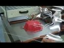 Вакуумная формовка термоформовка пластика Видео 3