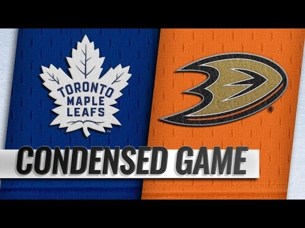 Toronto Maple Leafs vs Anaheim Ducks | Nov.16, 2018
