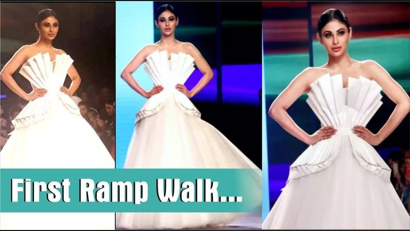 """Mouni Roy"" walks on ramp for ""Bombay Times Fashion Week 2018"" | Day 1"