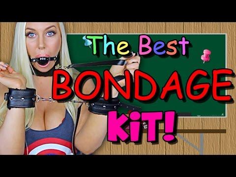 THE BEST BONDAGE KIT! - Sex Ed with Tara 34 (Paloqueth Bondage Set)