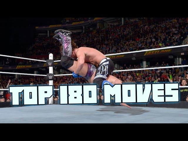 Top 180 Moves Of Aj Styles