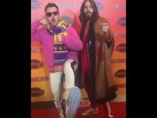 Jared & Shannon Leto   KROQ Weenie Roast