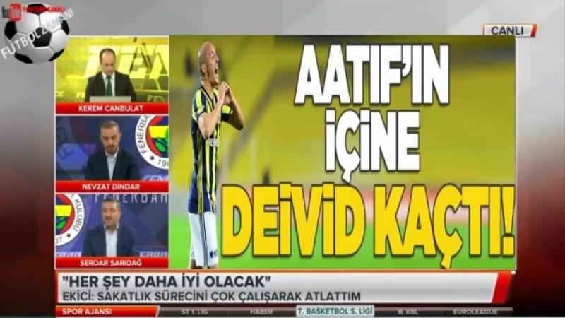 FENERBAHÇE Spor Ajansı ¦ Alper Potuk ve Mehmet Ekiçi Yorumları 6 NİSAN 2018