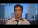 First appearance of Mark Zuckerberg - Very Inspiring young man thoughts change the IT world.