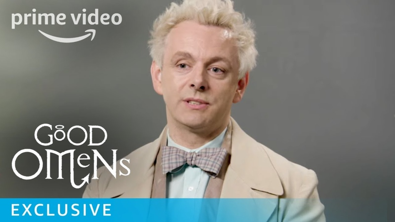 Good Omens Behind The Scenes Prime Video