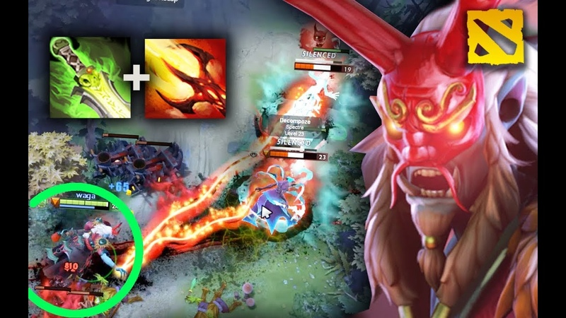 FIRST GRIMSTROKE WORLD RECORD, Grimstroke Mid 34 Kills In a Top Rank Game by Wagamama Dota 2