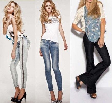 Какие джинсы в моде в этом сезоне?