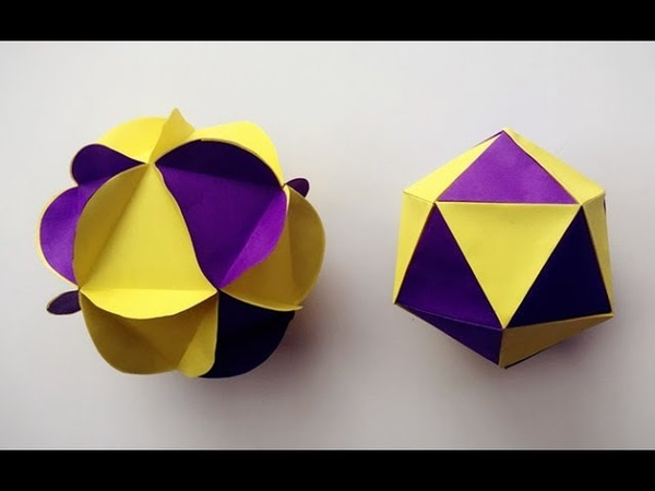 ABC TV | How To Make 3D Ball Paper Flower - Craft Tutorial | 2 Method