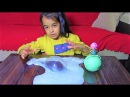 Lol Bebekle Slime Baloncuk ve Mıncıklama Oynadık - Lol Baby Slimee Playing Bubble and Pincer Game