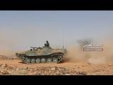 Операции Сирийской армии на северо-востоке провинции эс-Сувейда против террористов Daesh