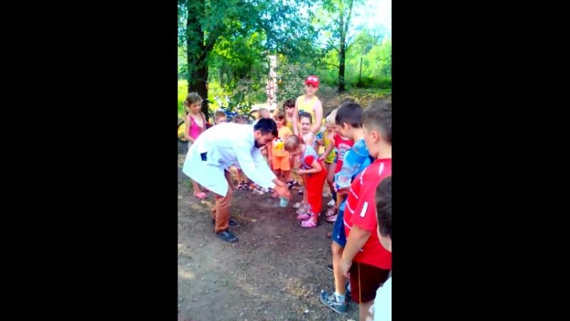 Праздник для детей на летней площадке