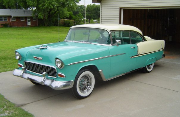 """ТРОИЦА ОТ ШЕВИ"" – 1955 Chevrolet Bel Air"