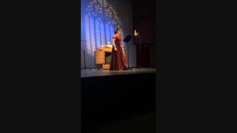 Анастасия Лепешинская — Б.Марчелло «Quella fiamma che maccende»