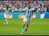 Lionel Messi Fantastic Free Kick Goal - Nigeria vs Argentina 1- 2 World Cup 2014