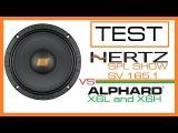 [TEST] Hertz SV165.1  vs Hannibal X6 (L4  H8)