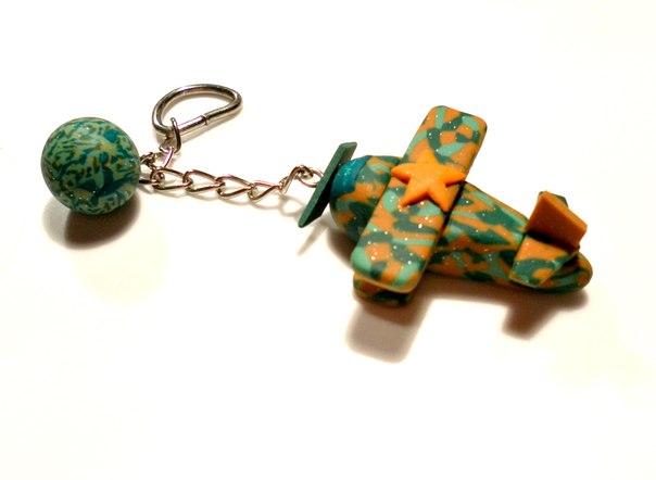 Брелок для ключей своими руками из полимерной глины