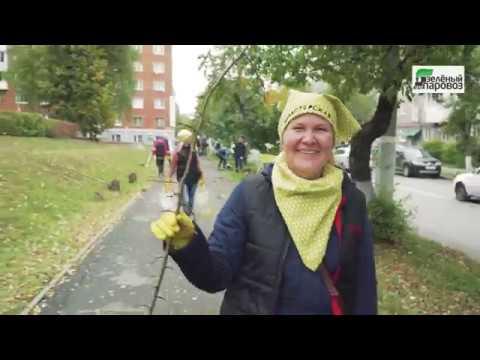 Восстановление яблоневой аллеи в центре города Ижевска