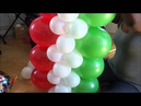 Columna facil en globos