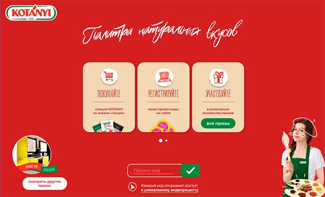 www.promo.ru.kotanyi.com акция 2019 года